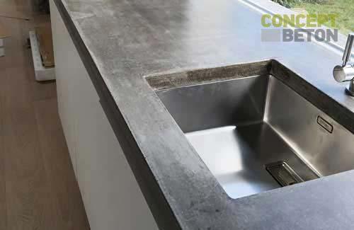 Küchenarbeitsplatten Beton arbeitsplatten aus beton
