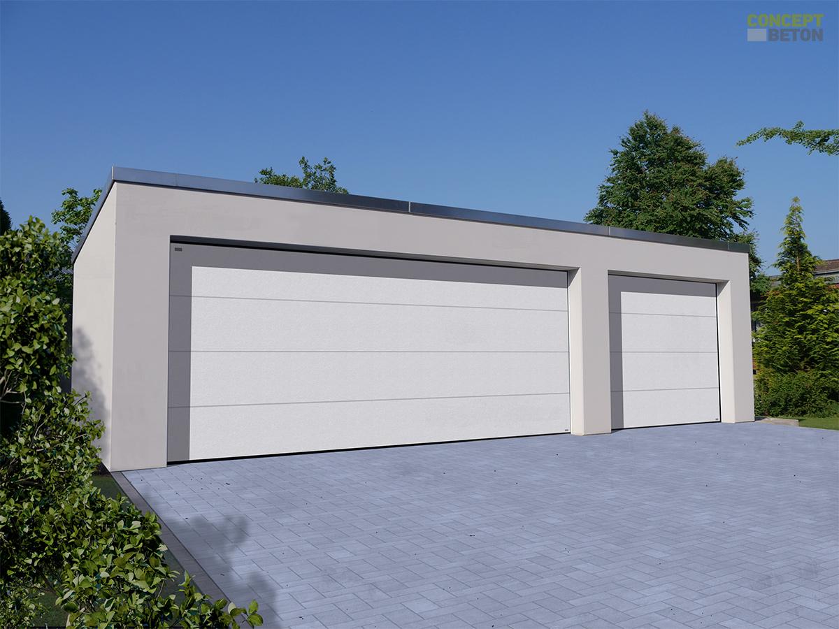Fertiggaragen nach Maß ▻ individuelle Garagen von Concept Beton