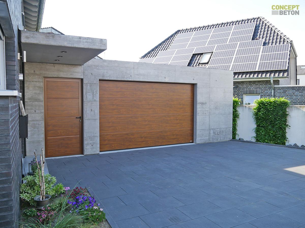 fertiggaragen nach ma individuelle garagen von concept beton. Black Bedroom Furniture Sets. Home Design Ideas