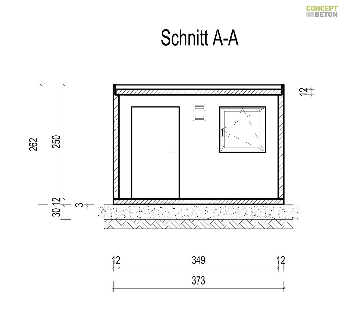 technische details concept beton garagen. Black Bedroom Furniture Sets. Home Design Ideas